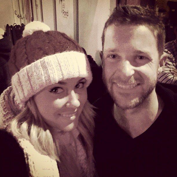 Lauren Conrad and good friend Trey Phillips went ice skating together.  Source: Instagram user laurenconrad