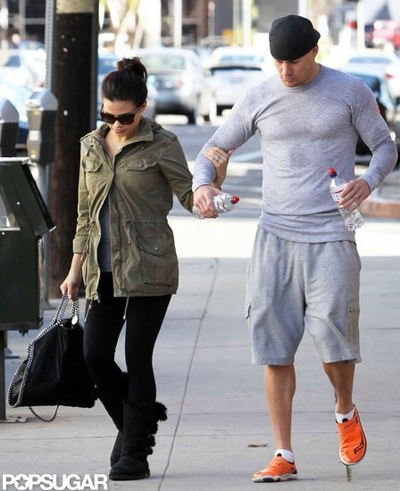 Channing and Jenna Clock in a Couple's Dance Class