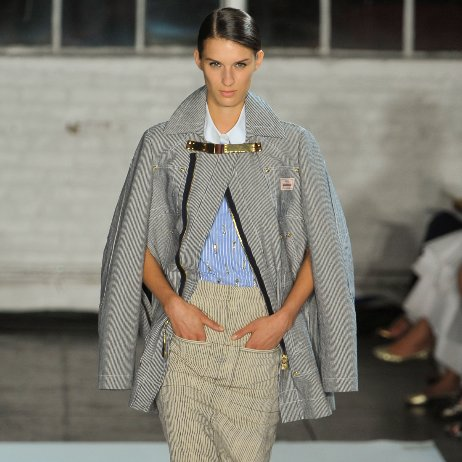 Railroad Stripes Runway Trend Spring 2013