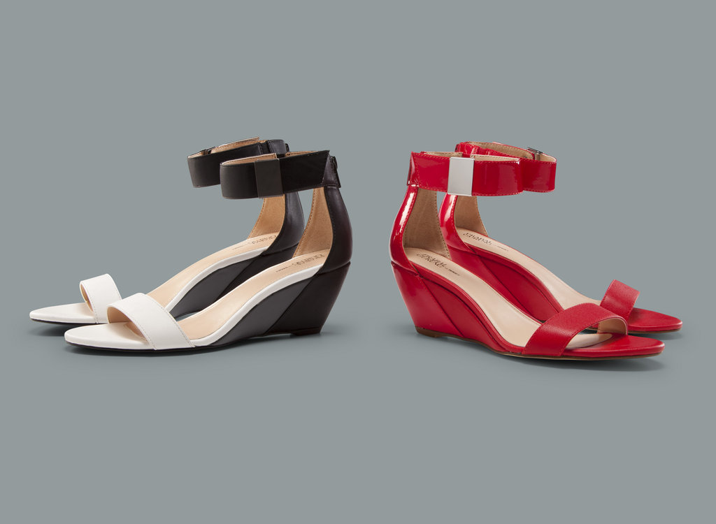I'm counting the days to Feb. 10, in the hopes that I'll snag these Prabal Gurung For Target wedge sandals ($30). Not only do they look sleek and come in this season's beloved black-and-white contrast, but they also look supercomfortable. — Marisa Tom, associate editor