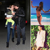 Miranda Heads Home With Her Boys Following a Bikini-Filled Beach Trip