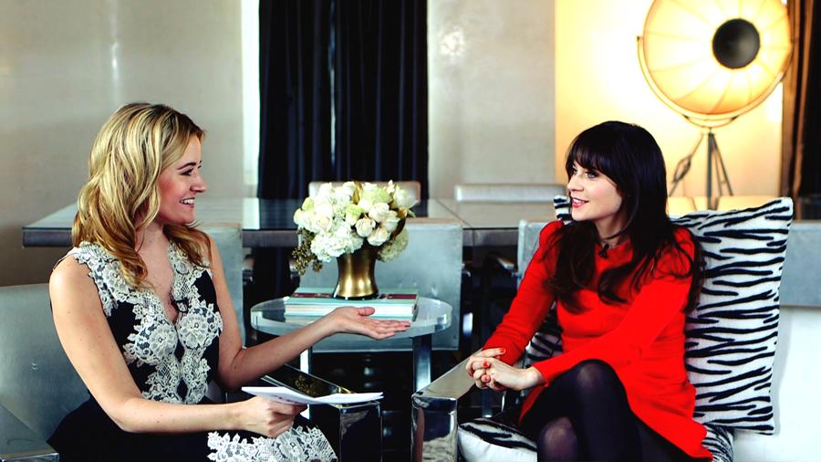 Zooey Deschanel Tells Us Her Big Beauty Secrets and New Girl Surprises