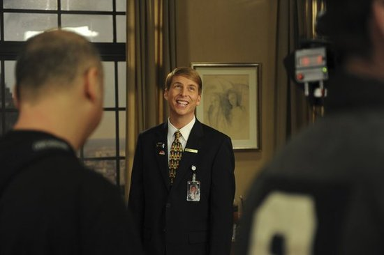 Jack McBrayer on 30 Rock.