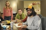Katrina Bowden and Judah Friedlander on 30 Rock.