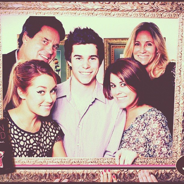 Lauren Conrad shared her family portrait.  Source: Instagram user laurenconrad