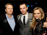 Teresa Palmer and Nicholas Hoult talked with Michael Burns at the film's afterparty at The Colony in LA.