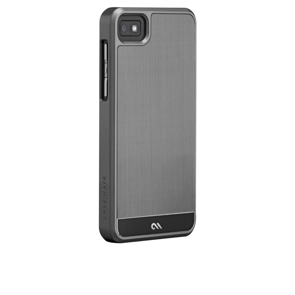 Keeping the BlackBerry Z10 simply modern is the Case-Mate Gunmetal With Brushed Aluminum Case ($50), and it allows access to all the phone's ports.