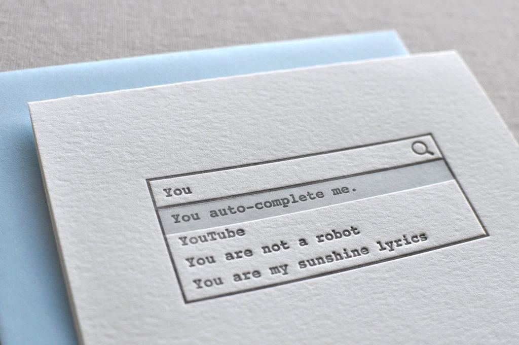 You auto-complete me ($7)