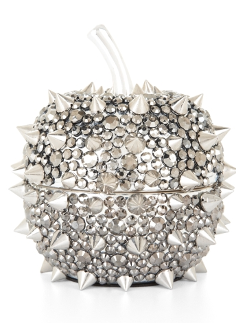 BCBG Max Azria's spiked apple jewelry box ($78) would add a stunning touch to any work desk or bedside table.