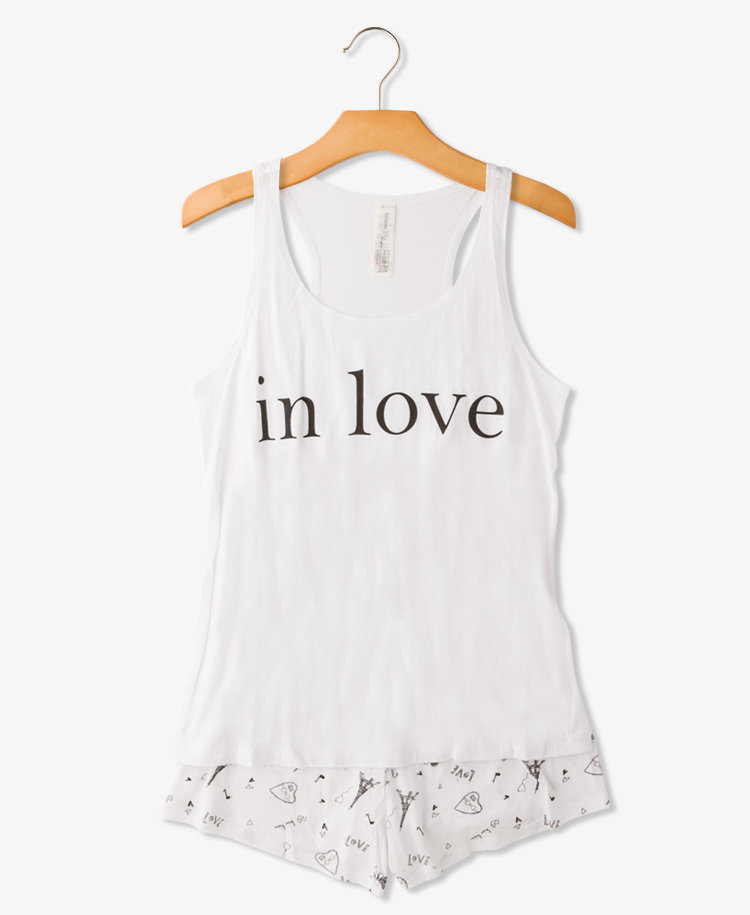 Forever 21's in love PJ set ($13) would make for the perfect gift for your girlfriend, sister, or BFF. The best part? The price is right.