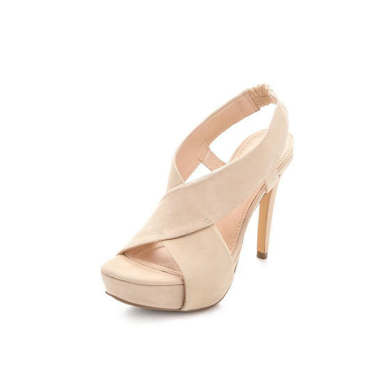 Pretty, comfortable, and versatile! — Laura, shopstyle.com.au country manager Heels, approx $278, Diane von Furstenberg at Shopbop