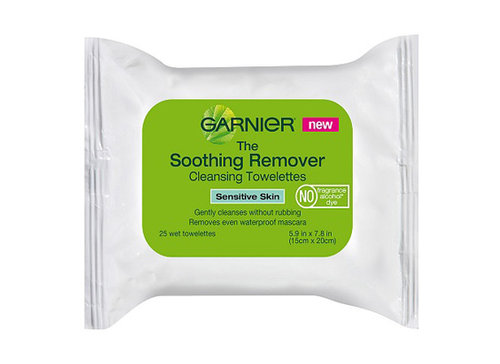 Garnier Soothing Remover Cleansing Towelettes Review