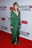 Kristen Connolly attended the House of Cards premiere in NYC.