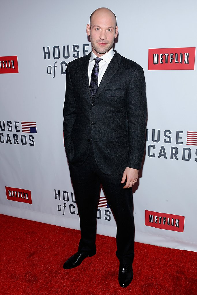 Corey Stoll wore a suit on the red carpet.