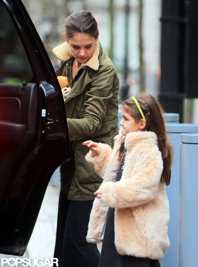 Katie and Suri Stop For an After-School Shake