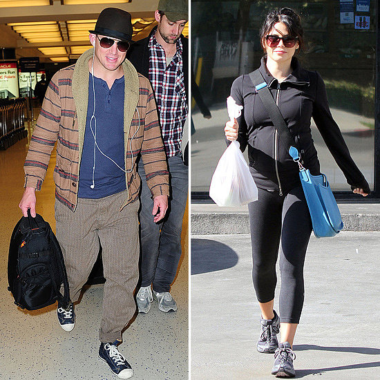 Channing Heads Off While Pregnant Jenna Holds Down the Fort