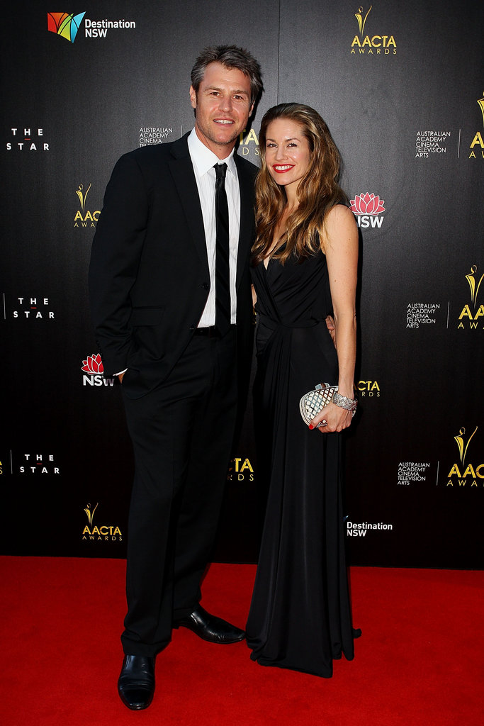 Rodger Corser and Renae Berry