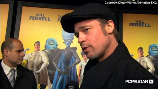 Video: Brad Pitt's George Joke & Spider-Man Dreams