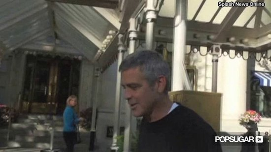 Video: George Clooney Answers Engagement Question