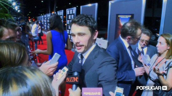 Video: James Franco's Premiere With Twilight & True Blood Stars
