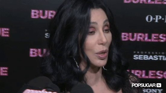 "Cher Competes With ""10-Year-Old"" Christina Aguilera"