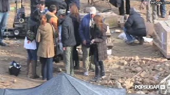 Video:  Angelina Jolie Calls the Shots in Budapest