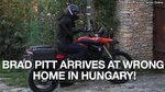 PREVIEW: Brad Pitt Arrives at Wrong Home in Hungary