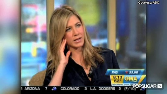 Video: Jennifer Aniston on Bill O'Reilly, Being Bad, & Boys
