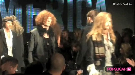 Video: Justin, Jessica, & JT's Mom at Fashion Week