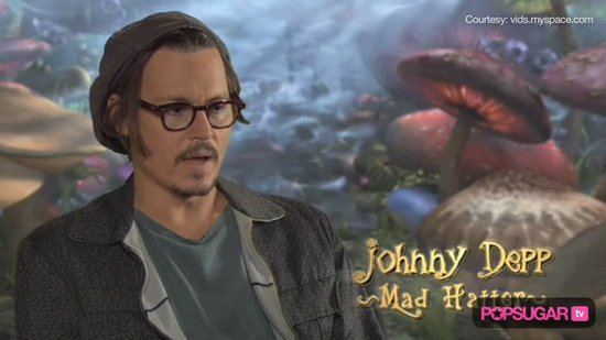 Video: Johnny Depp Juggles Dream Roles