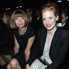 Front Row Fashion Week with Anna Wintour