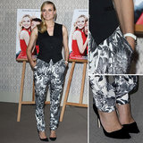 Leave it to the ever-chic Diane Kruger to show us how to rock print pants all year long.