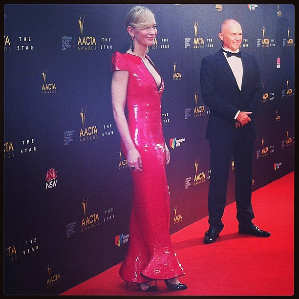 Cate Blanchett, could you look more spectacular? It was fun seeing this red-hot lady on the red carpet. She holds herself so well, and is lovely.