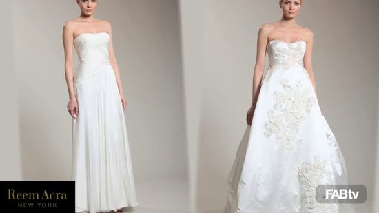 Sneak Peek: Reem Acra Spring 2011 Bridal Collection
