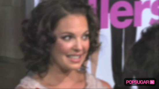 Video: Katherine Heigl Debuts New 'Do & Movie With Ashton Kutcher