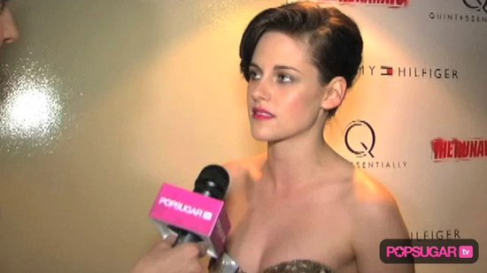 Video: Kristen Stewart Talks Breaking Dawn