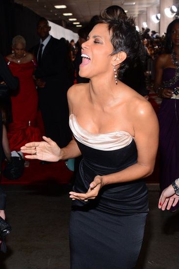 Halle Berry had fun at the NAACP Image Awards in LA.