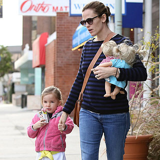 Jennifer Garner Takes Seraphina to Karate in LA