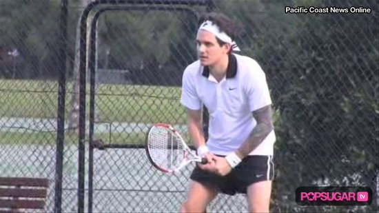 Video: John Wears Short Shorts For Tennis