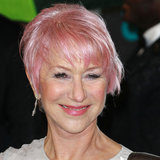 Helen Mirren New Pink Hair | BAFTA Awards 2013