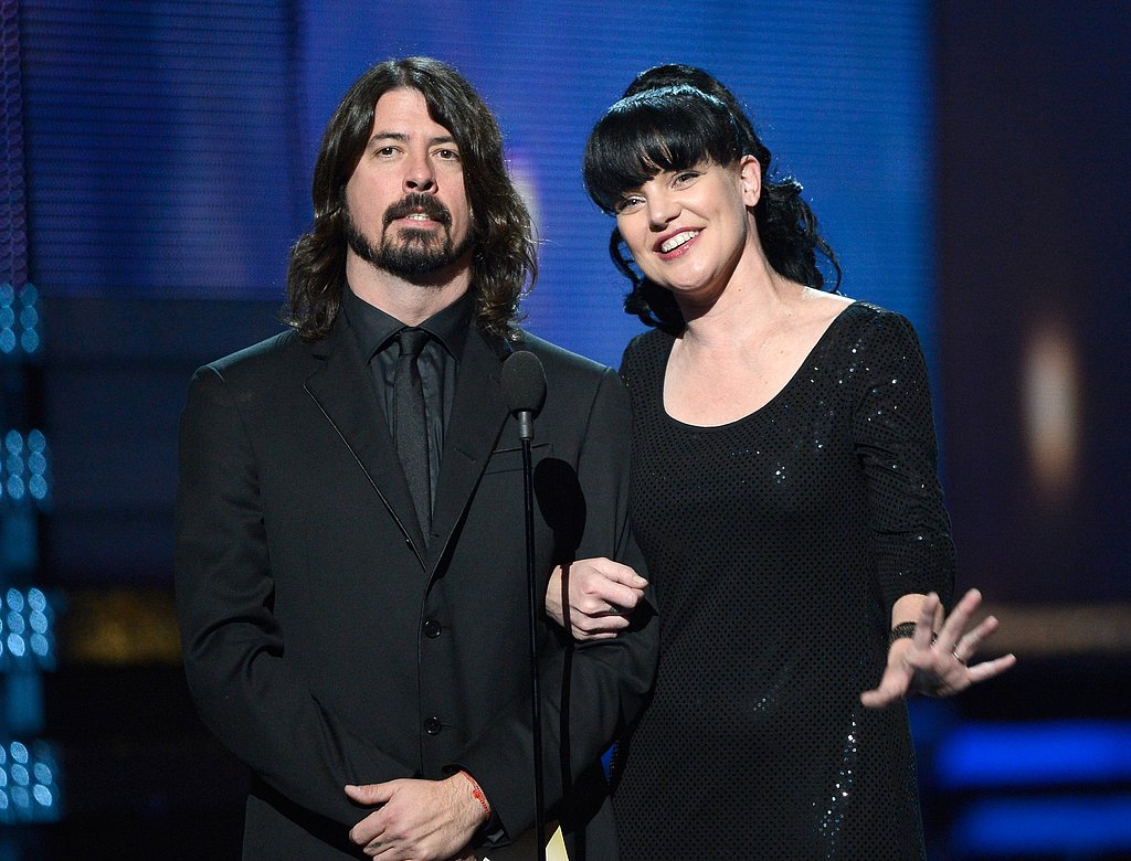 Dave Grohl and Pauley Perrette