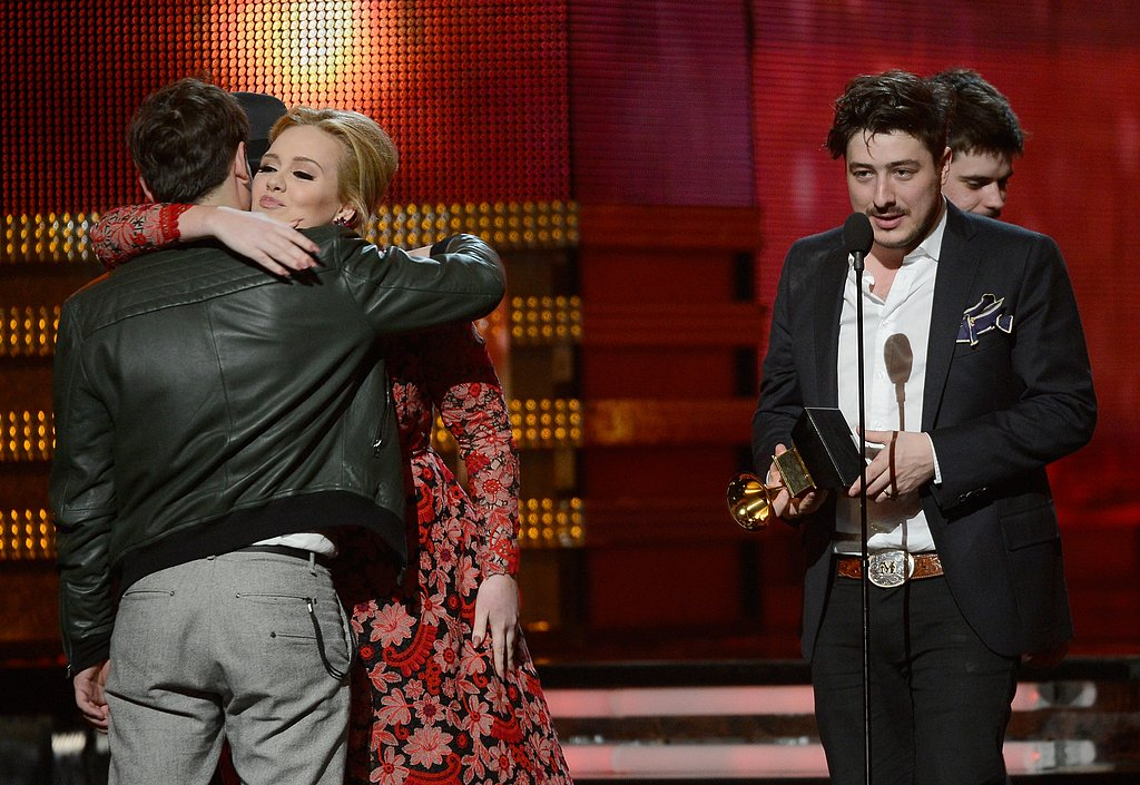 Adele and Marcus Mumford