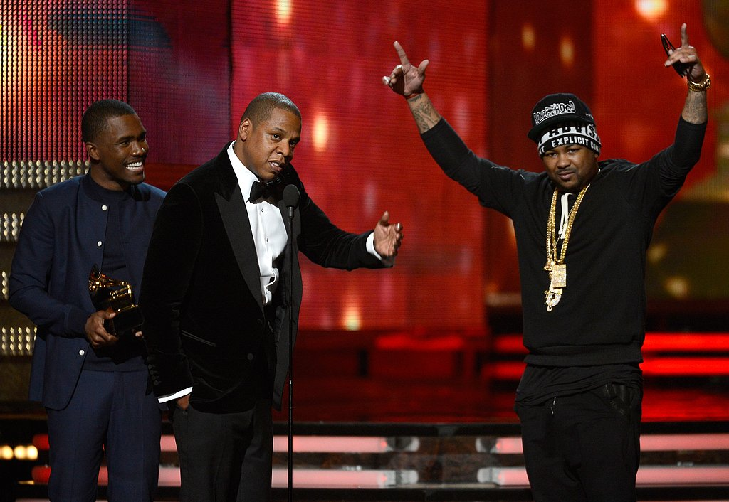 Frank Ocean, Jay-Z, and The-Dream