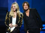 Kaley Cuoco and Keith Urban