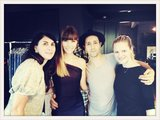 "Jessica Biel tweeted a picture of her with her ""dream team."" Source: Twitter user JessicaBiel"
