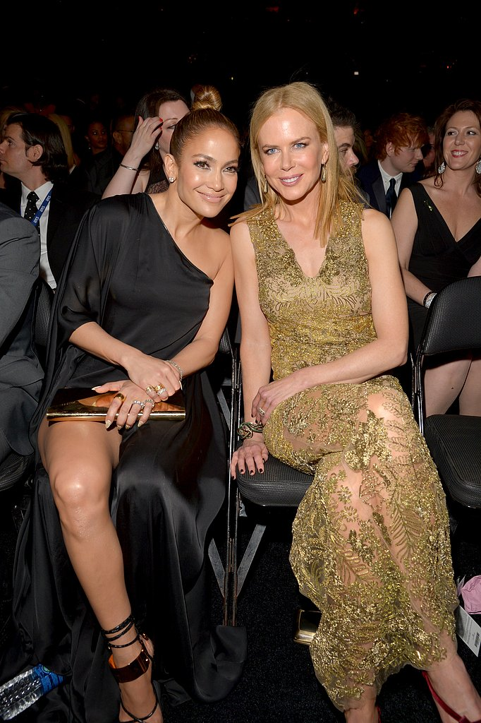 Jennifer Lopez and Nicole Kidman posed for a snapshot during the show.