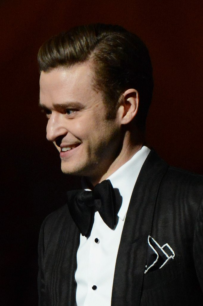 Justin Timberlake was all smiles at the Grammys.