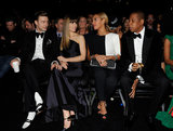 Justin Timberlake and Jessica Biel spent a memorable Grammys 2013 sitting with fellow industry power couple Beyoncé and Jay-Z.