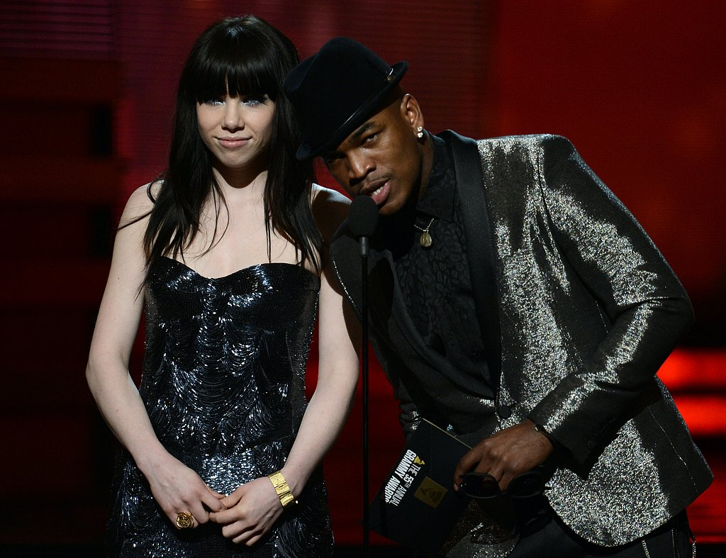Carly Rae Jepsen and Ne-Yo presented together at the Grammys in 2013.