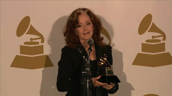 Video: Bonnie Raitt Talks Taking a Year Off and Her Grammy Win